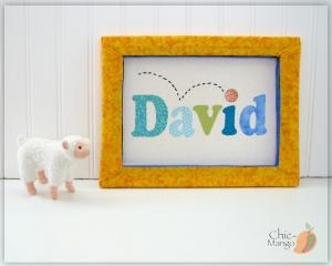 David - Basketball blues & greens