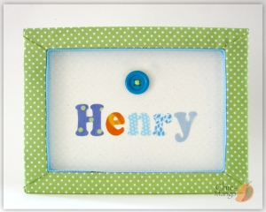Henry Button multicolor