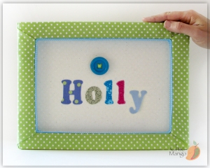 Holly - Button multicolor