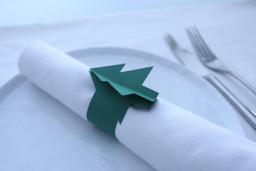 Christmas Tree napkin rings