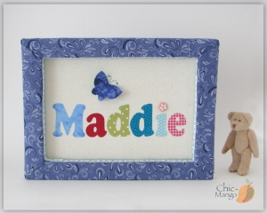 Maddie - 3D Butterfly multicolor