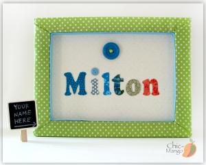 Milton - Button multicolor