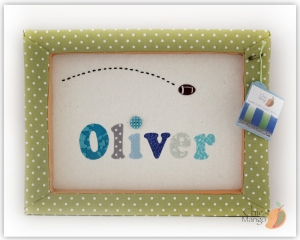 Oliver - Football blues & grays