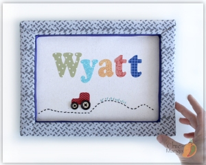Wyatt - Tractor Trail multicolor