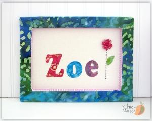 Zoe - Flower batik
