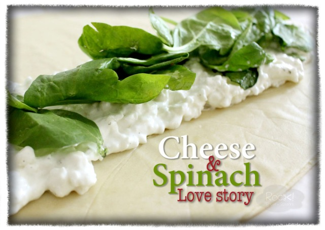 cheese-spinach Pastry