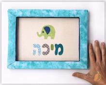 Mika name sign elephant