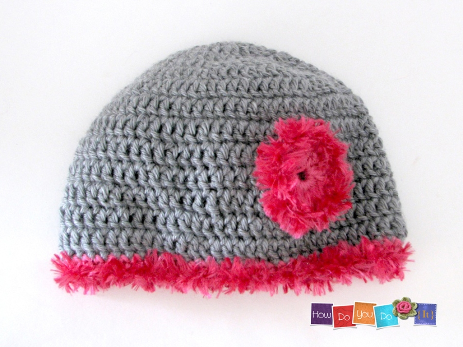 crochet hat for kids pattern