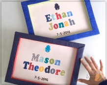 mason jonah twins Hamsah DOB name sign